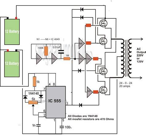 inverter circuit 500va 400va 200va 150va 100va