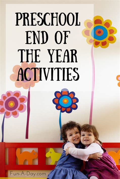 kindergarten themes throughout the year end of the school year activities for preschool