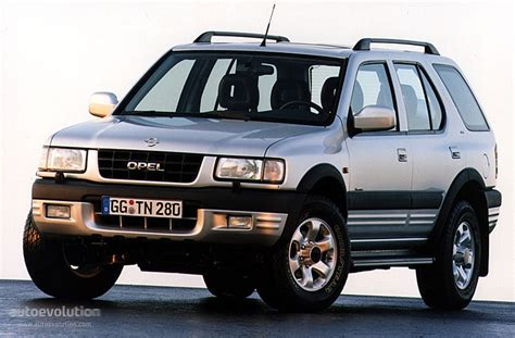 2004 vauxhall frontera photos informations articles