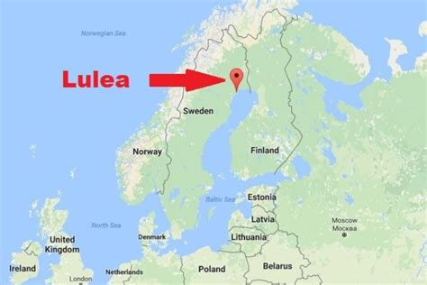 on the map 4 reasons to visit lulea sweden miss tourist travel
