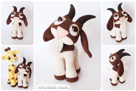 amigurumi goat pattern free amigurumi goat by amigurumiaskina on deviantart