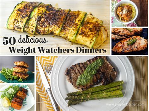 50 delicious weight watchers dinners slender kitchen