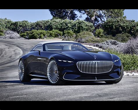 maybach mercedes concept mercedes maybach electric vision 6 cabriolet concept 2017