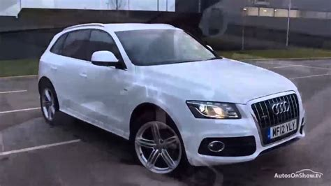 White Audi Q5 by Audi Q5 Tdi Quattro S Line Plus White 2012