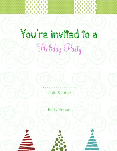 free online party invitations template best template