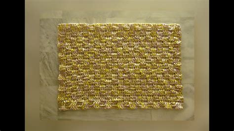 How To Make A Doormat Out Of Plastic Bags by Plarn Door Mats Pattern 1