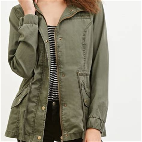 Hoodie Sweater Initial D Impact Blue Navy Front Logo hooded drawstring utility jacket from forever 21