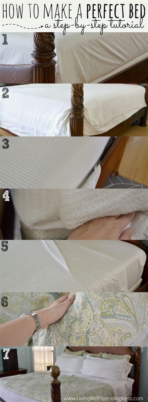 how to make the bed how to make a perfect bed living well spending less 174