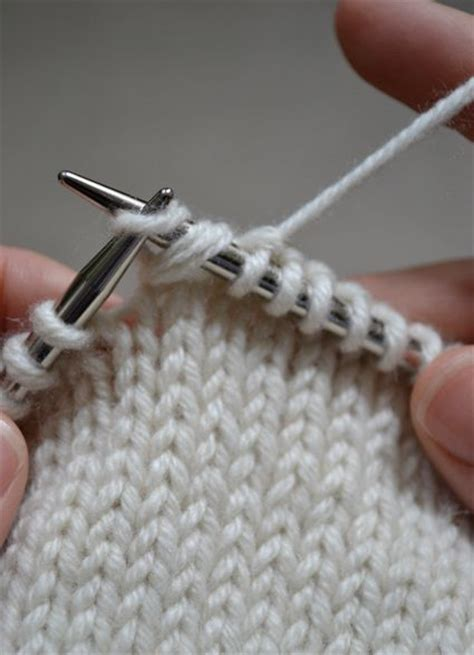 knit wrap and turn wrap and turn w t rows showing how to make the
