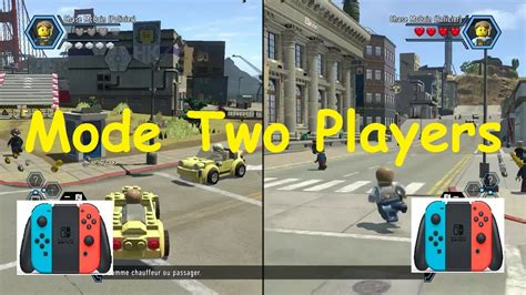 Switch Lego City Undercover lego city undercover nintendo switch two players mode