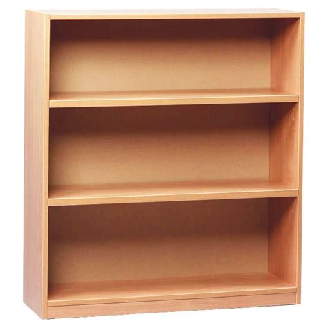 Open Shelf Bookcase Open Bookcase With 3 Shelves 1000h