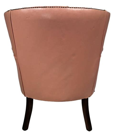tufted leather armchair midcentury tufted leather armchair at 1stdibs