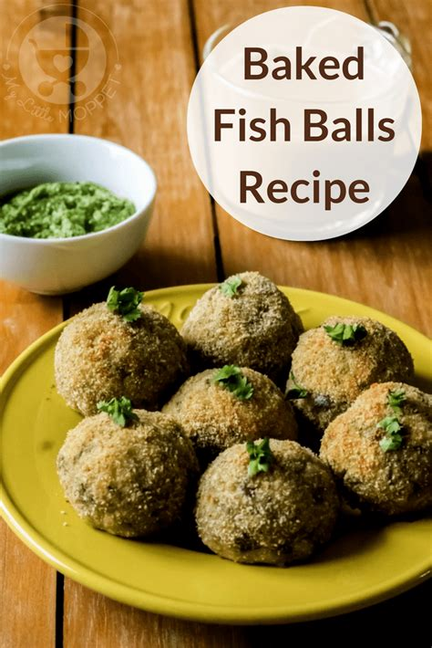 Would You Eat Fish Balls by Baked Fish Balls Recipe For