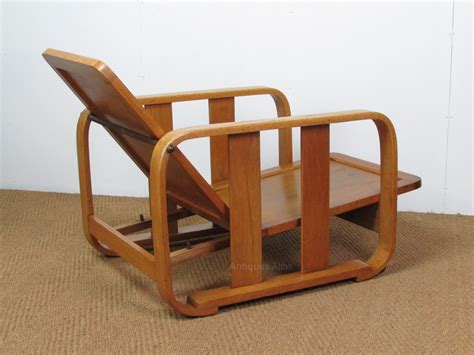 easy chair recliner pair of heal s oak recliner easy chairs antiques atlas
