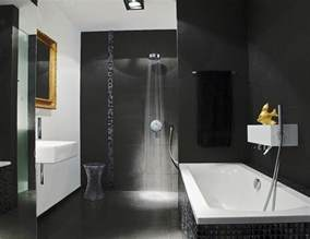 Modern Bath Shower black bathroom modern bathroom