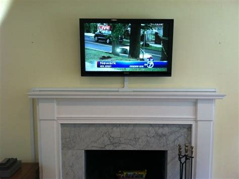 mount tv on brick fireplace hide wires best 25 hiding tv wires ideas on hide cables on wall hide tv cords and hide wires