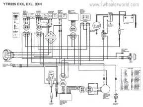 5 best images of yamaha big wiring diagram yamaha moto 4 wiring diagram yamaha big