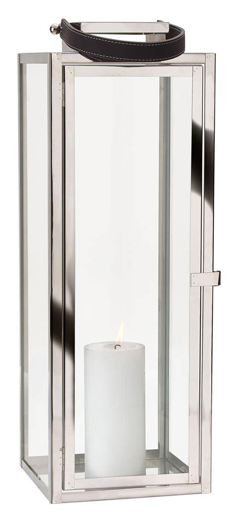 kerzenhalter edelstahl laterne edelstahl glas mit griff t 252 r metall windlicht