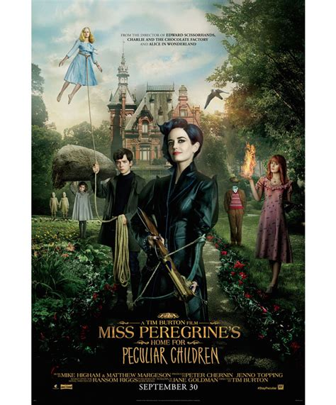 S Home miss peregrine s home for peculiar children trailer
