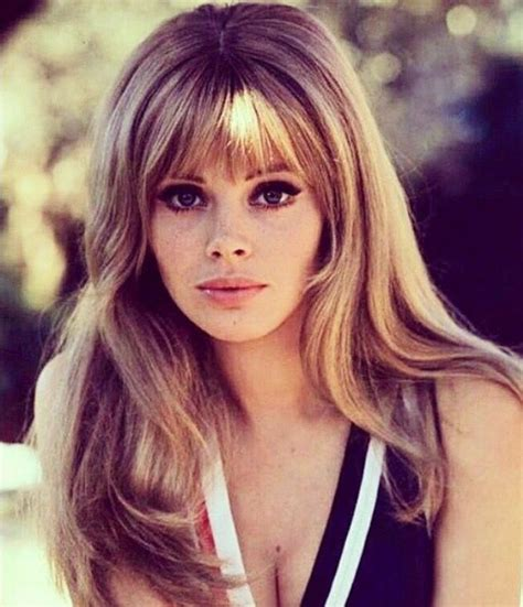 britt ekland long layered hairstyles the 25 best britt ekland ideas on pinterest 60s bangs