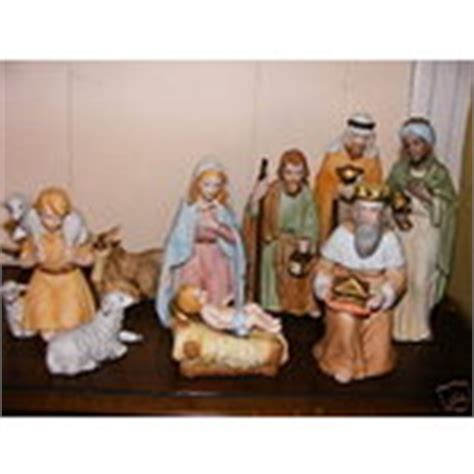 home interiors homco vintage nativity 5599 mint in box