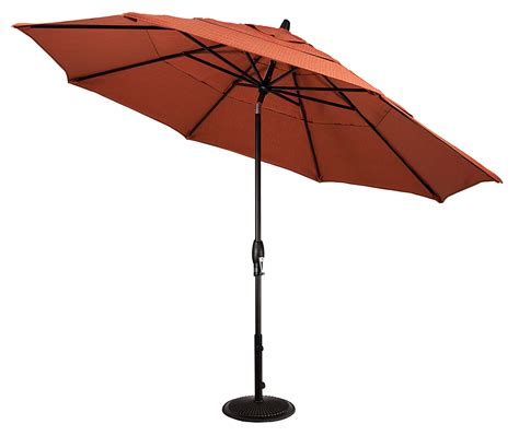 Tilting Patio Umbrella 11 Auto Tilt Octagon Market Umbrella