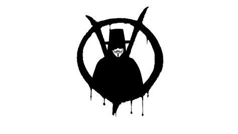 v pour vendetta logo hd papier peint de bureau 233 cran