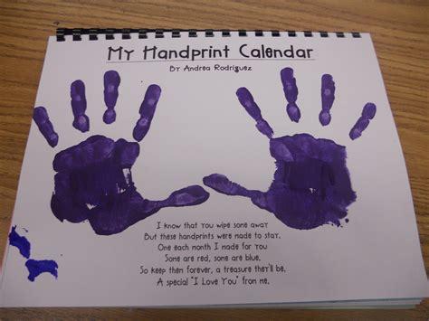 Handprint Calendar Ideas