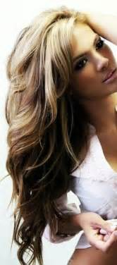 hair styles brown on botton and blond on top pictures of it blonde highlights with brown underneath hair colors