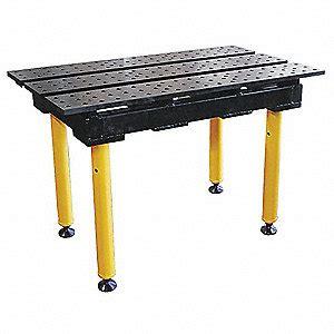 buildpro welding table 38w 22d cap 1300 nitrited 30d348