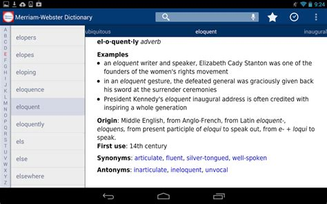 dictionary apk merriam webster standard dictionary apk riepocato s