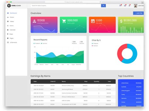 27 Free Bootstrap Admin Templates That Saves Your Money And Time Best Bootstrap Admin Template