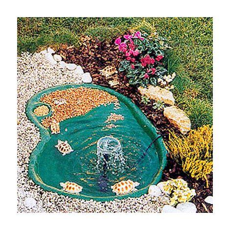 laghetto da giardino per tartarughe laghetto per tartarughe green trionix 80 lt termoformato