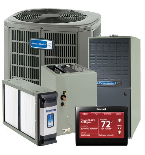 comfort plus heating and cooling american standard complete system high efficiency gc