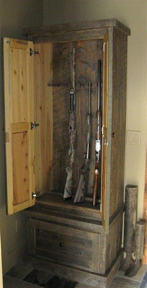 pallet wood gun cabinet plans best 25 gun cabinets ideas on gun safe diy