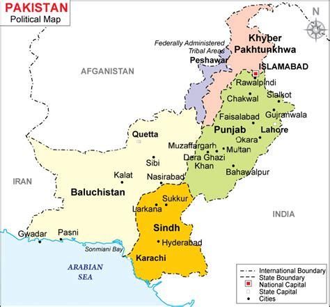 map of pakistan maps of pakistan bizbilla