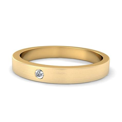 s ct t w wedding band in k two tone gold