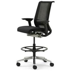 high back drafting tall office chairs for standing desks