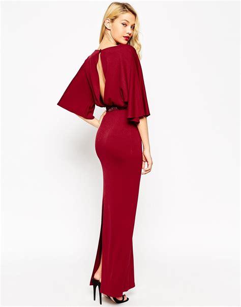 Joana Kimono Maxidress by Lyst Asos Kimono Maxi Dress With Belt In