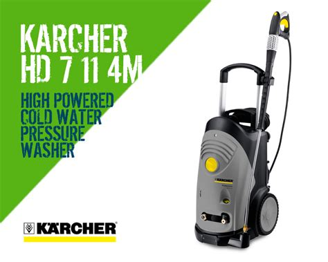 Karcher Hd 7 11 4 High Pressure Cleaner karcher hd 7 11 4m cold water pressure washer