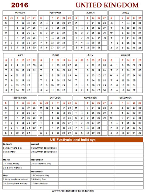 printable uk calendar 2015 with bank holidays printable 2015 calendar uk bank holidays
