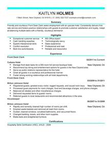 Image result for front office resume