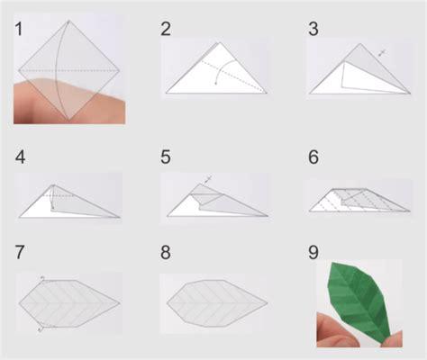 Origami Bunga Ros - cara membuat origami bunga mawar yang mudah dan mirip