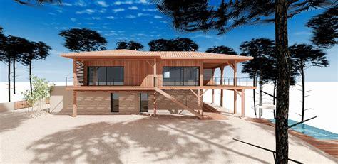 Maison En Bois Sur Pilotis 2564 by Construction D Une Maison Sur Pilotis Au Pyla Mcc