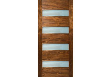 Glass Exterior Door Etiam 4 Horizontal Lite Door With Laminate Glass 1 3 4