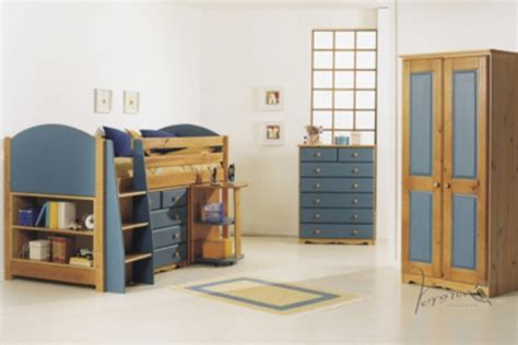 Mid Sleeper Beds Ireland by Verona Antique Midsleeper