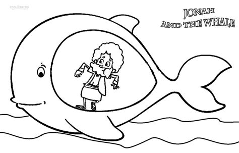 Free Coloring Pages Of Jonah Whale Jonah Coloring Pages
