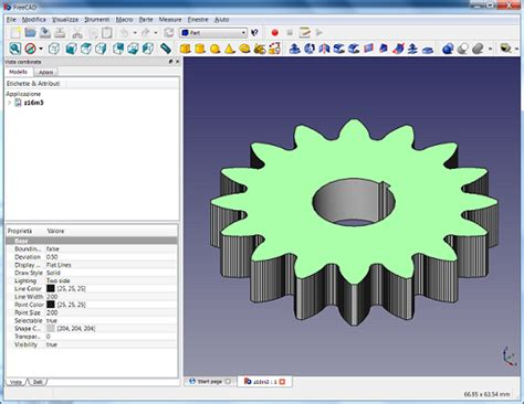 gear layout software fcgear a gear generator using bezier curves page 4