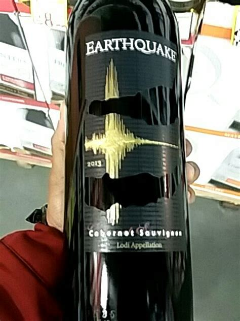 earthquake zinfandel 2013 michael david earthquake cabernet sauvignon 2013 wine info