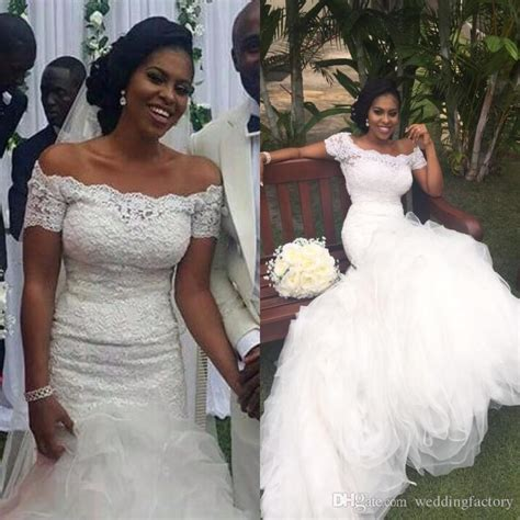 african short wedding dresses fit and flare african mermaid wedding dresses off the